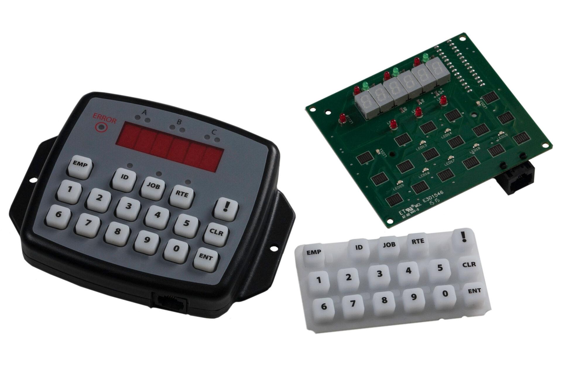 Fleet Tracking Operator Panel parts