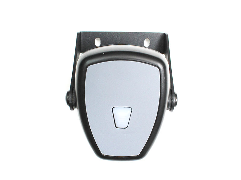 black and gray plastic barcode scanner