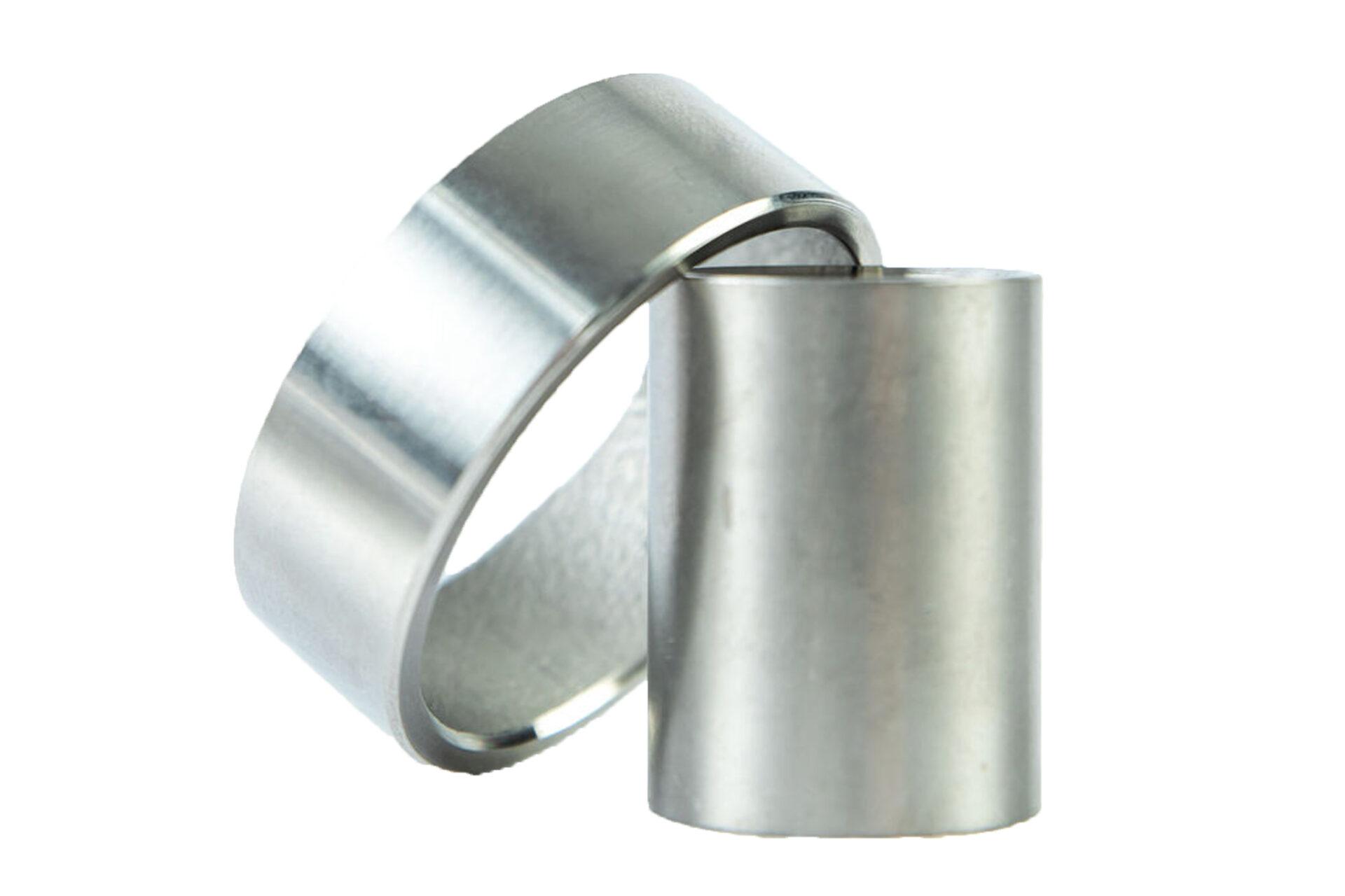 close up of metal parts
